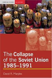 Cover of: The collapse of the Soviet Union