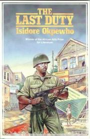The last duty by Isidore Okpewho