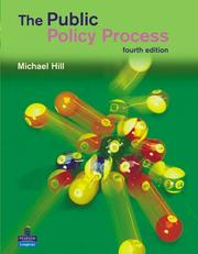Cover of: The Public Policy Process