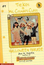 Cover of: Halloween Parade (Kids in Ms Colman