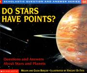 Cover of: Do Stars Have Points?