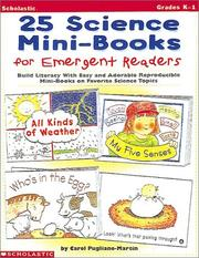 Cover of: 25 Science Mini-Books for Emergent Readers