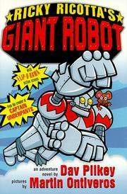 Cover of: Ricky Ricotta's giant robot