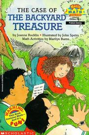 Cover of: The case of the backyard treasure