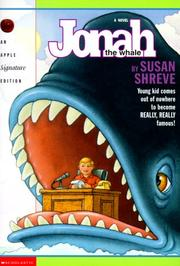 Cover of: Jonah, the whale
