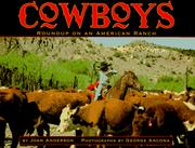 Cover of: Cowboys | Joan Anderson