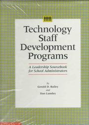 Cover of: Technology staff development programs | Gerald D. Bailey