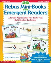 Cover of: 20 Rebus Mini-Books for Emergent Readers