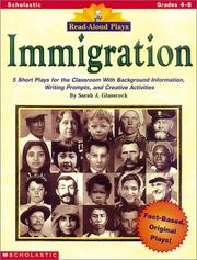 Cover of: Read-Aloud Plays: Immigration (Grades 4-8)