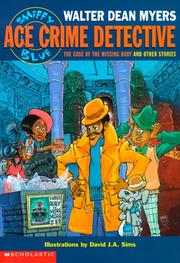 Cover of: The Case of the Missing Ruby and Other Stories (Sniffy Blue: Ace Crime Detective)