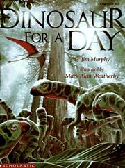 Dinosaur for a Day (Blue Ribbon Book)