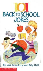 Cover of: 101 Back To School Jokes (rev) (101 Jokes Books) | Lisa Eisenberg