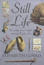 Cover of: Still life