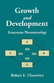 Cover of: Growth and Development