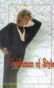 Cover of: A Woman of Style | Colin McDowell