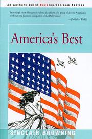 Cover of: America's Best