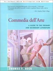 Cover of: Commedia dell'arte