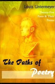 Cover of: Paths of Poetry