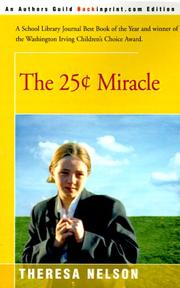 Cover of: The 25 Cents Miracle