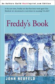 Cover of: Freddy