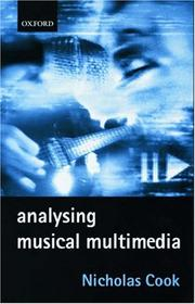 Cover of: Analysing musical multimedia
