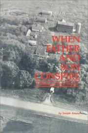 Cover of: When Father and Son Conspire