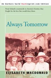 Cover of: Always Tomorrow