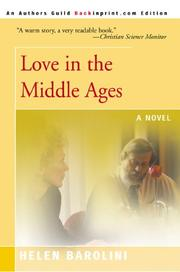 Cover of: Love in the Middle Ages | Helen Barolini