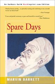 Cover of: Spare days