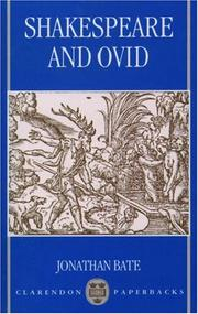 Cover of: Shakespeare and Ovid