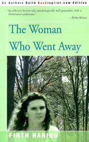 Cover of: The woman who went away