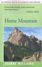 Cover of: Home Mountain | Jeanne Williams