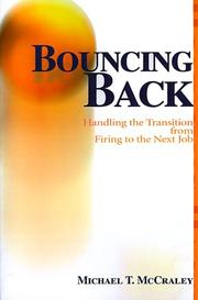 Cover of: Bouncing Back | Michael McCraley