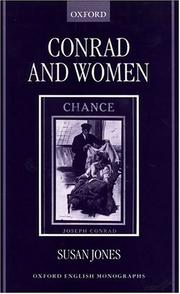 Cover of: Conrad and women | Jones, Susan