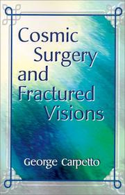 Cover of: Cosmic Surgery and Fractured Visions