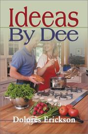 Cover of: Ideas by Dee | Dolores Erickson