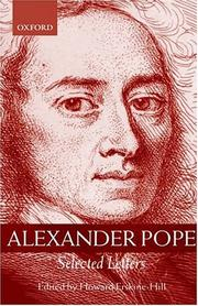 Cover of: Alexander Pope | Alexander Pope