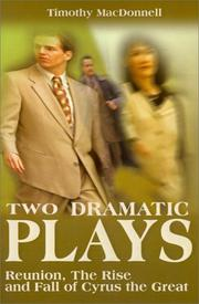 Two Dramatic Plays