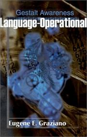 Cover of: Language-Operational | Eugene Graziano