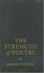 Cover of: The strength of poetry