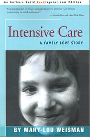 Cover of: Intensive Care: A Family Love Story