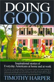 Cover of: Doing Good