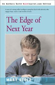 Cover of: The Edge of Next Year