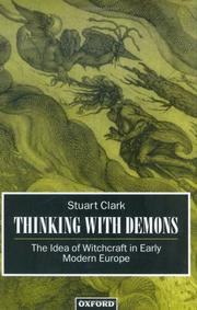 Cover of: Thinking with demons | Stuart Clark