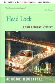 Cover of: Head lock