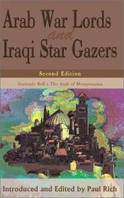 Cover of: Arab War Lords and Iraqi Star Gazers | Paul Rich