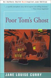 Cover of: Poor Tom's Ghost