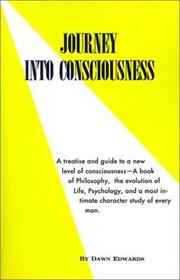 Cover of: Journey into Consciousness