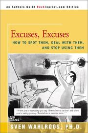 Cover of: Excuses, Excuses