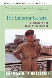 Cover of: The Emperor General